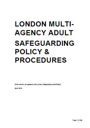 New Multi-Agency Adult Safeguarding Policy and Procedures