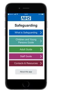 NHS Safeguarding App